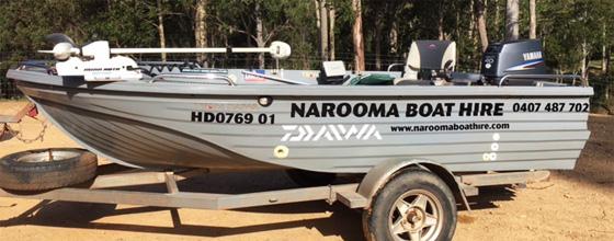 narooma boat hire