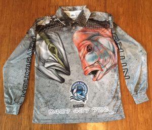Charter Fish Narooma Fishing Shirt